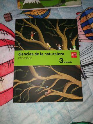 LIBRO SM CIENCIAS DE LA NATURALEZA 3 PRIMARIA