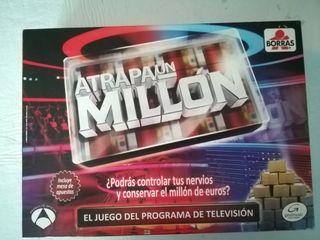 Atrapa un millón. Juego de mesa