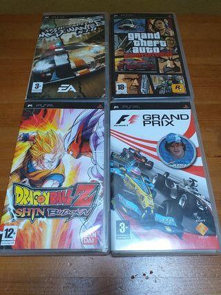 Pack de Juegos PSP