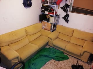 Dos sofás a juego
