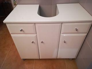 Mueble bajo lavabo nuevo. 63 alto,38 fondo,71 anch