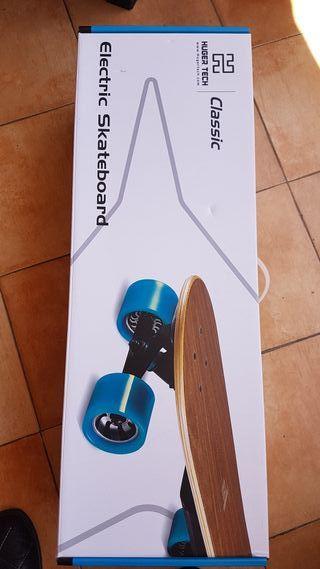Monopatín Skate Board electrico Huger Tech