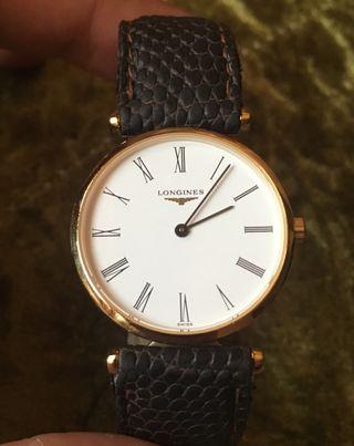 ee0cf26643a6 Reloj de oro Longines de segunda mano en WALLAPOP