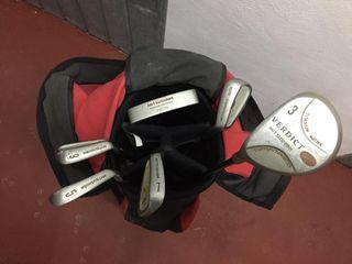 Set de palos de Golf para ZURDOS + regalo