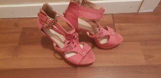 zapatos de mujer rosa