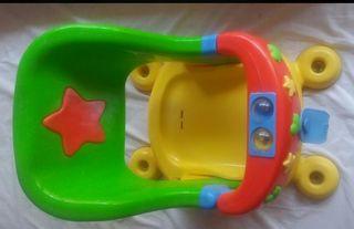 aplicador baño bebe