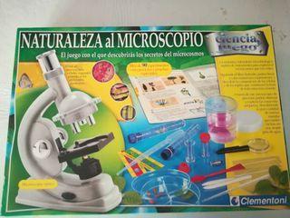 Naturaleza al microscopio