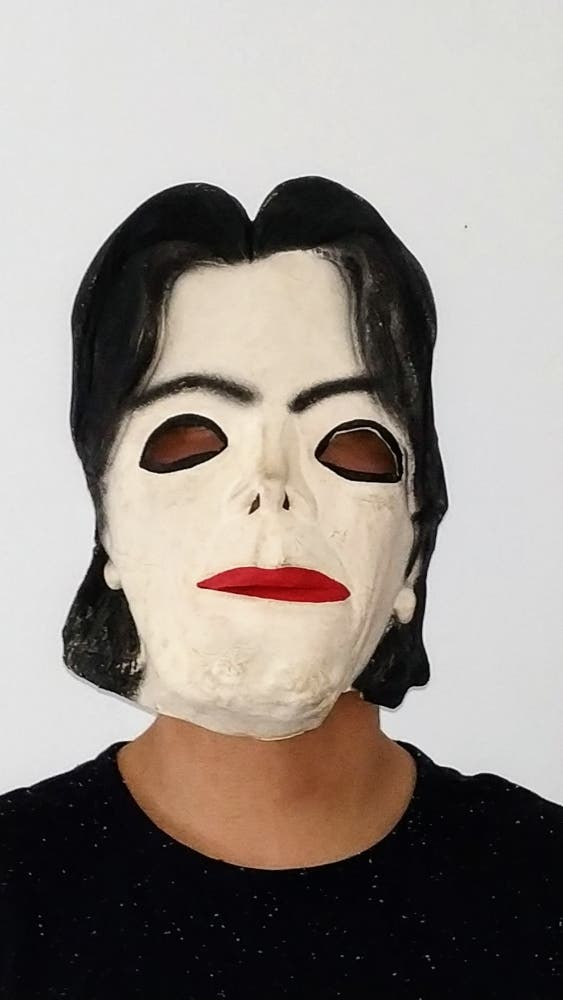 Máscara Carnaval Halloween Mickael Jackson