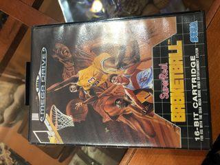 Juego Sega superreal basketball