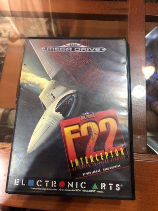 Juego sega Airforce F22 interceptor