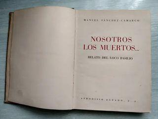**1 edición** Libro antiguo Nosotros los muertos