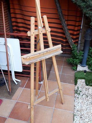 caballete de pintura 180cm alto