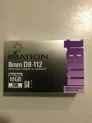 Cintas magnética imation 8mm d8-112