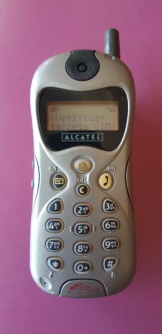telefono movil antiguo alcatel