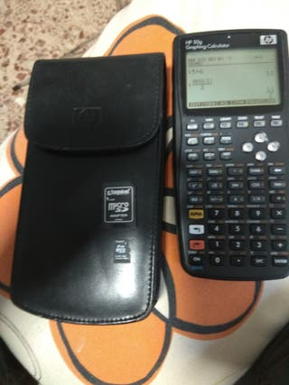 HP 50g graphing caculator, calculadora HP