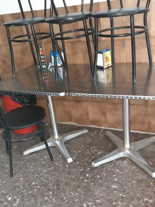 Sillas para bar de segunda mano en wallapop for Sillas de terraza de segunda mano