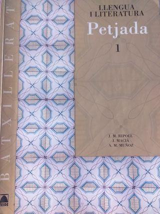 libro de catalán 1r Bachillerato