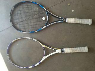 Raqueta babolat pure drive + babolat viper