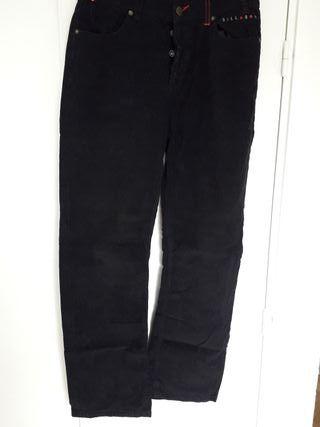 Pantalón negro pana Billabong hombre