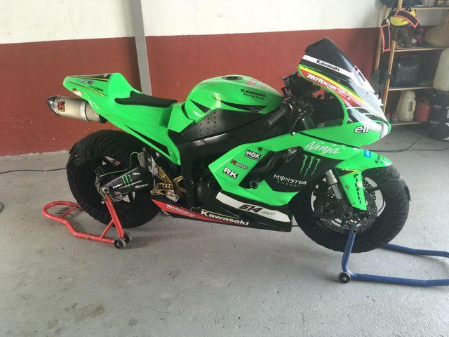 Kawasaki zx6r 2008 ninja cup