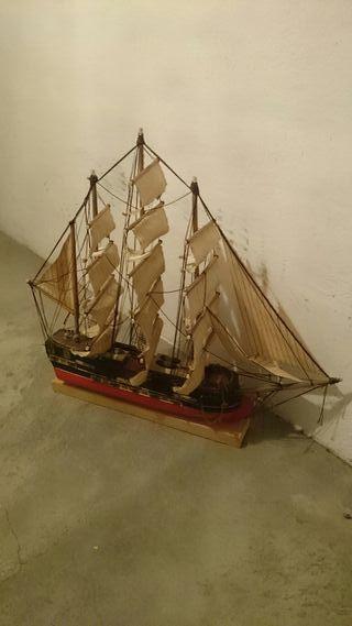 Maqueta Barco de madera