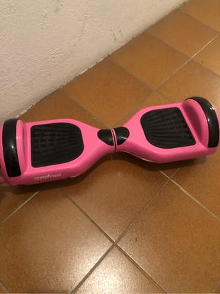 Patinete electrico hoverboard rosa