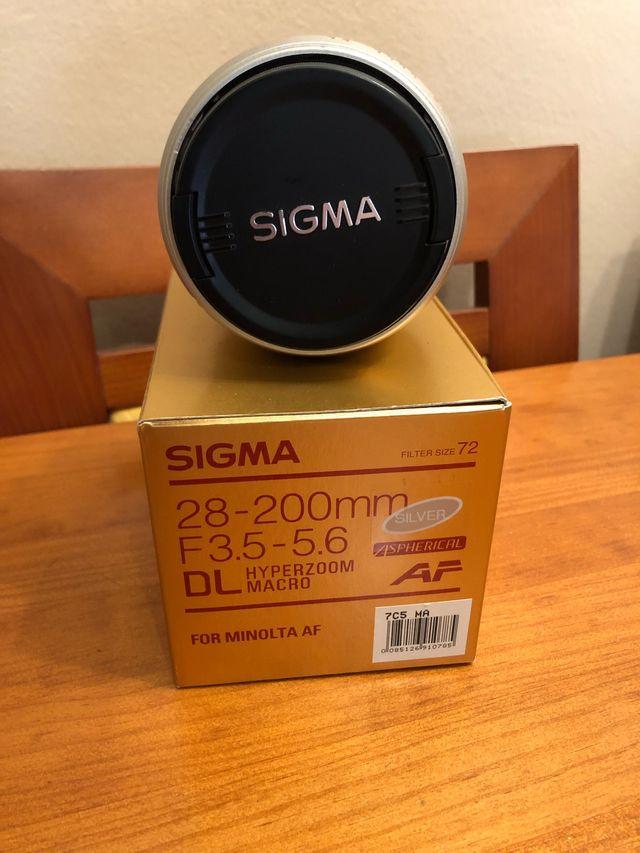 Objetivo Sigma 28-200 AF