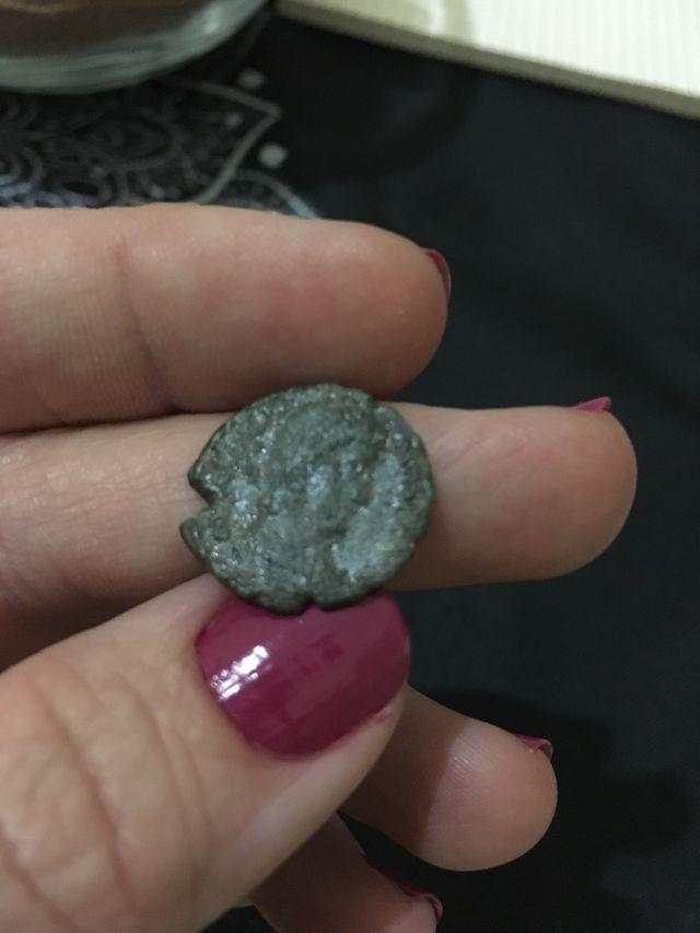 Centenional moneda romana Constancio II, 350-355