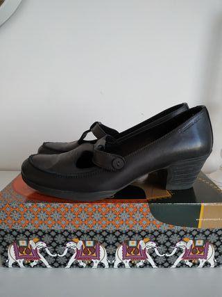 zapatos piel panama jack. t-41