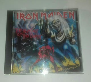 The number of the beast Cd