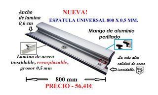 ESPÁTULA UNIVERSAL 800 X 0,5 MM.