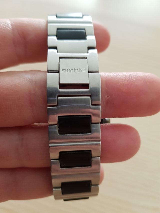 Reloj Swatch digital cuarzo hombre