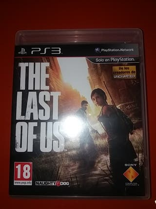 juego de ps3 the last of us