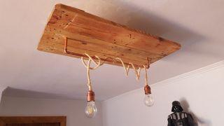 Lámpara de techo original