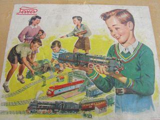 Tren Paya Vintage