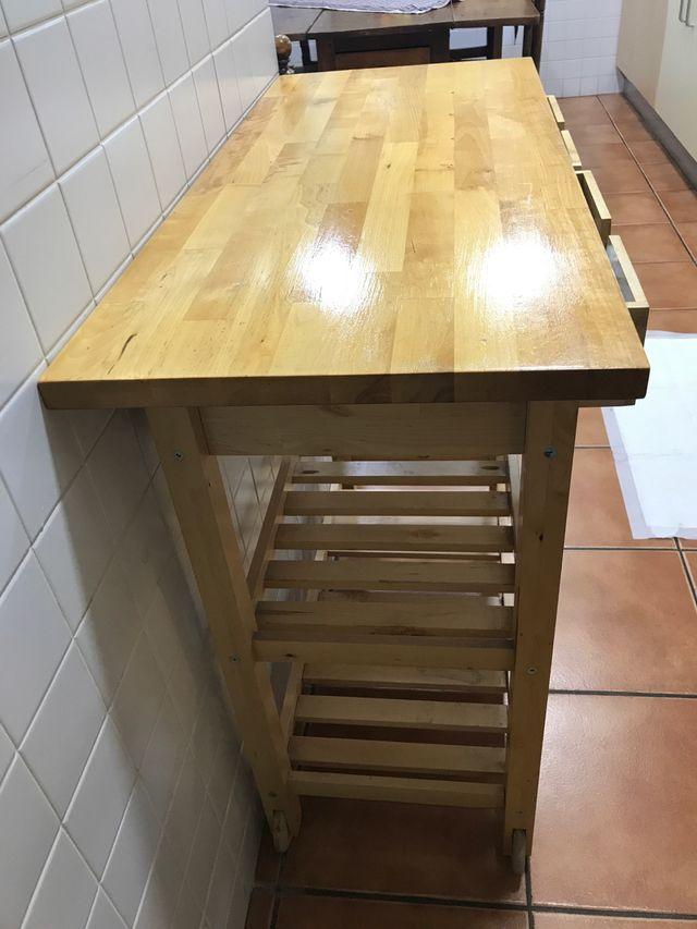 Mueble auxiliar cocina ikea de segunda mano por 20 € en El Papiol en ...