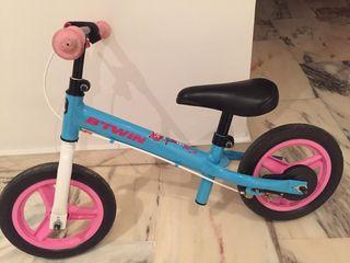 bicicleta niña.sin pedales
