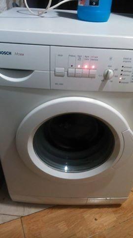 lavadora Bosch. a quien pueda interesar.
