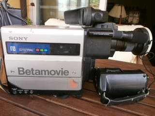 Camara Sony Vintage Betamax Betamovie y Cargador