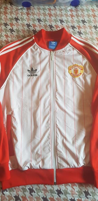 Chaqueta Manchester United(Adidas original retro)