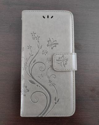 Funda de piel con tapa Xiaomi Redmi Note 4, 4X