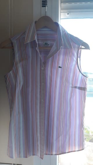 Camisa Lacoste Auténtica.