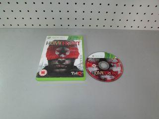 Juego Xbox 360 en caja Homefront