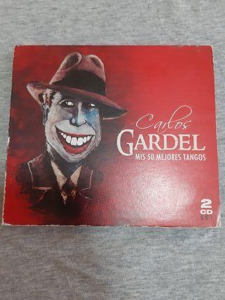 "2CD. CARLOS GARDEL ""MIS 50 MEJORES TANGOS"""