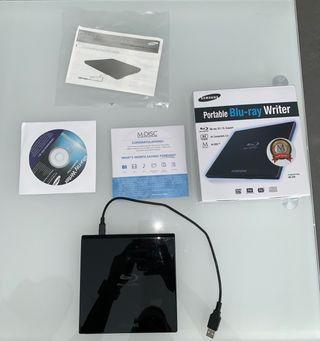 Reproductor Blue Ray/Dvd para ordenador
