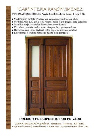 Real Mano La Puertas De Entrada Segunda En Provincia Ciudad TlFK1Jc