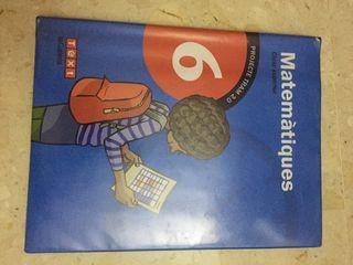 Libro Matemáticas 6 9788451222090