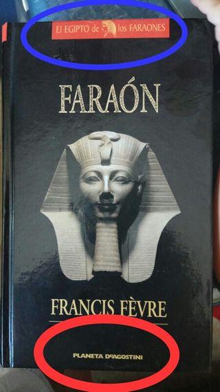 colección de libros de egipto