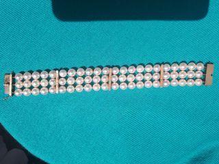 0f0b45d7e908 Pulsera de perlas naturales de segunda mano en WALLAPOP