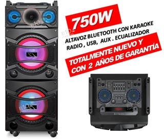"""ALTAVOZ 2X10"""" SERIE DJ PARTY DE SYTECH SYXT60"""